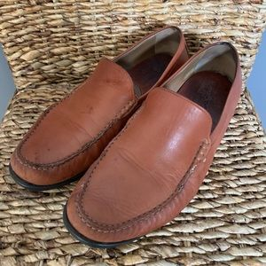 JOHNSTON & MURPHY Cresswell Brown Venetian Loafers